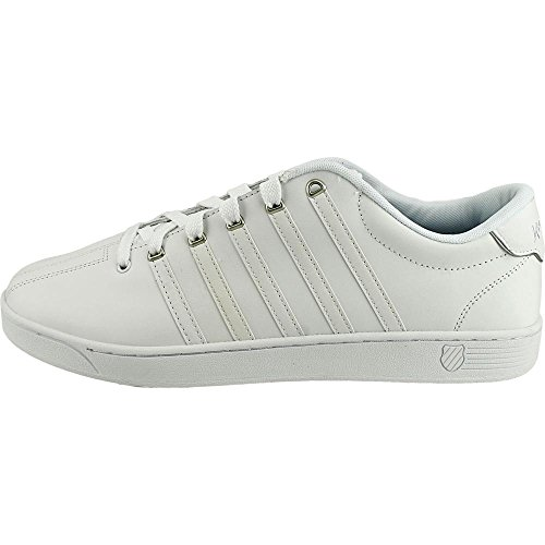 K-Swiss Mens Court Pro II Fashion Sneaker Weiß