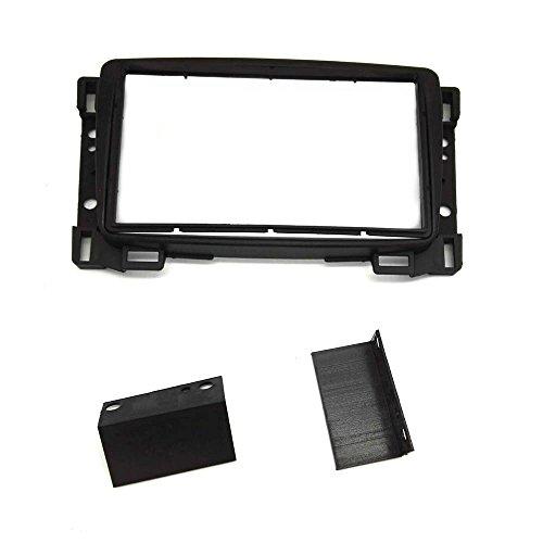 ZWNAV Double Din Car Stereo Install Frame Fascia for Sail 2010+ Stereo: