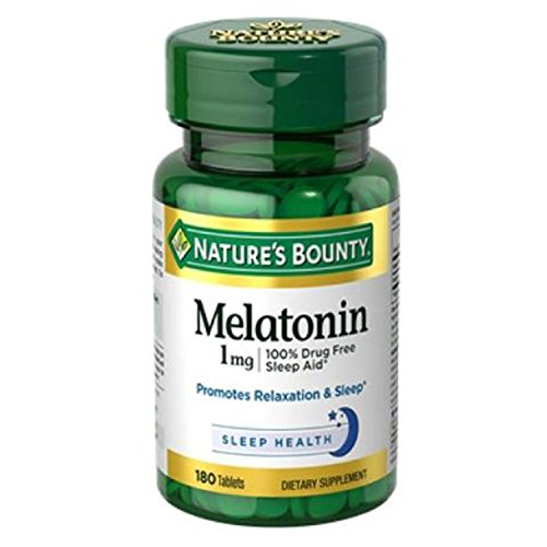 Natures Bounty Melatonin Tablets Count