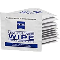 ZEISS Lens Wipes - 200 Pre-Moistened Eyeglass Cleaning Wipes