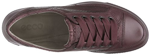 Ecco Rouge Sneaker bordeaux À Femme Lacets Derbies Dress bordeaux Rot TFqarT