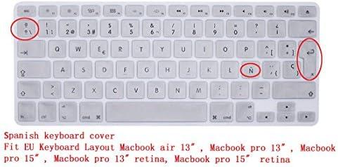 GSuMio Española Cubierta del Teclado/Keyboard Cover para MacBook Pro 13