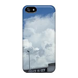 New Cute Funny White Puffy Clouds Before Storms Hit Cases Covers/ Iphone 5/5s Cases Covers