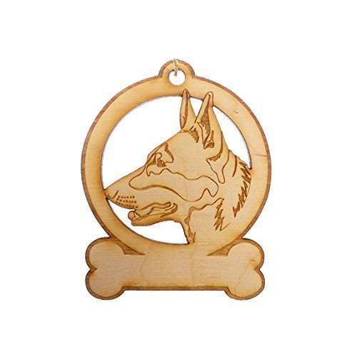 Personalized German Shepherd Ornaments - German Shepherd Gifts - German Shepherd Memorial