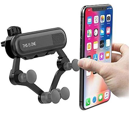 Porta Telefono Auto iPhone gravit/à Universale 360 Gradi di Rotazione Nero Porta Cellulare da Auto Auto Accessori Interni Samsung Zregovic Supporto Smartphone per Auto Huawei e dispositivi