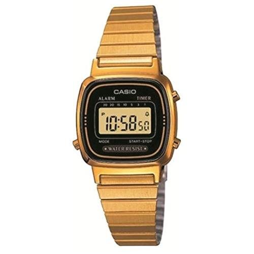 Casio LA-670WG-1 - Reloj digital de cuarzo para mujer con correa de