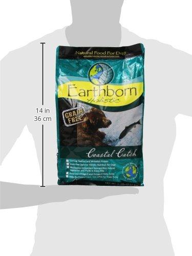 Earthborn Holistic Dry Dog Food Coastal Catch 5 Lb
