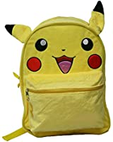 "Pokemon Pikachu 16"" Fuzzy Backpack with Ears"