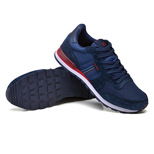 botas adulto caño bajo Unisex Azul de XIGUAFR aqUd0a