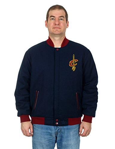 Cleveland Cavaliers Jacket - Wool & Nylon Reversible (6X)