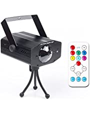 KOOT Party Lights Bluetooth Disco Ball Light Dj Club Light 9 Colors Strobe Crystal Magic Ball Lights with Speaker USB Charging Wireless Phone Connection Remote for Wedding KTV Karaoke Home Party Club