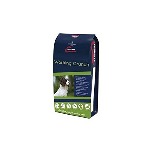 Chudleys Working Crunch Adult Dog Food (15kg) (Pack of 4)