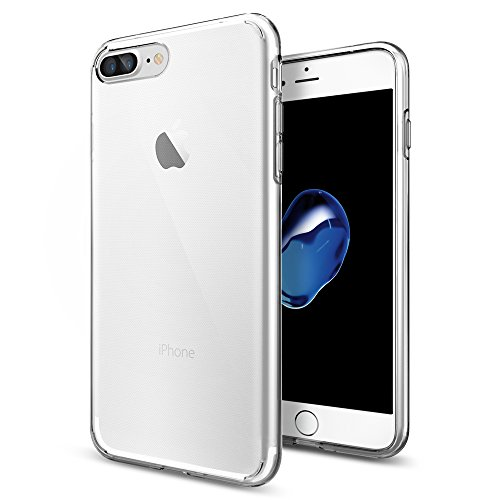 Capa para Iphone 7 Plus Liquid, Spigen, Capa Anti-Impacto, Transparente
