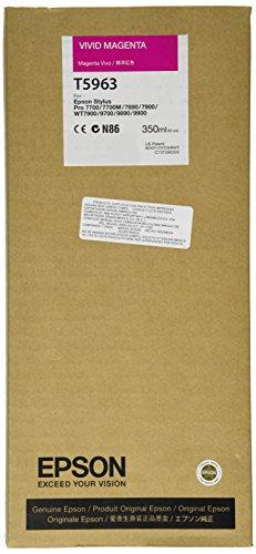 Ink Ultrachrome Magenta (Epson UltraChrome HDR Ink Cartridge - 350ml Vivid Magenta (T596300))
