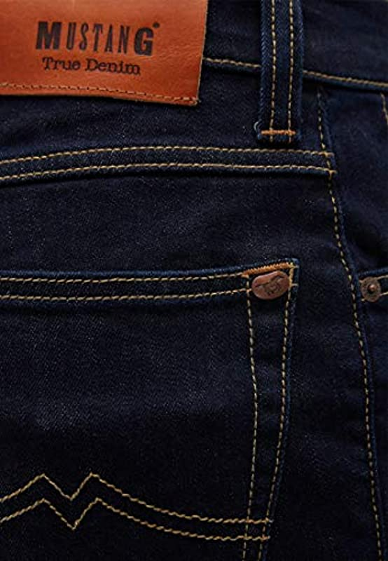 MUSTANG Męskie dżinsy Slim Fit Tramper: Odzież