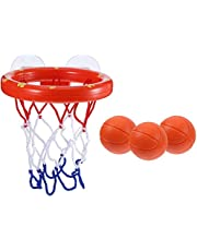 Arateck  Toddler Bath Toys Kids Basketball Hoop Bathtub Water Play Set for Baby Girl Boy