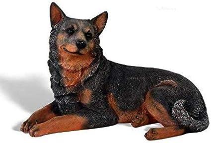 Australian Cattle Dog Dog Figurine Blue Standard Size