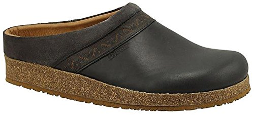 Leather Cork Clogs (Stegmann Women's Leather Linz Clog with Cork Sole)