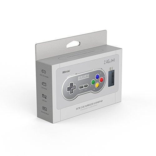 8Bitdo-SN30-24G-Wireless-Controller-for-SNES-Classic-Edition