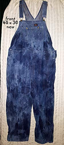 Custom dyed Dickies overalls (new) Mens sized 48 x 30