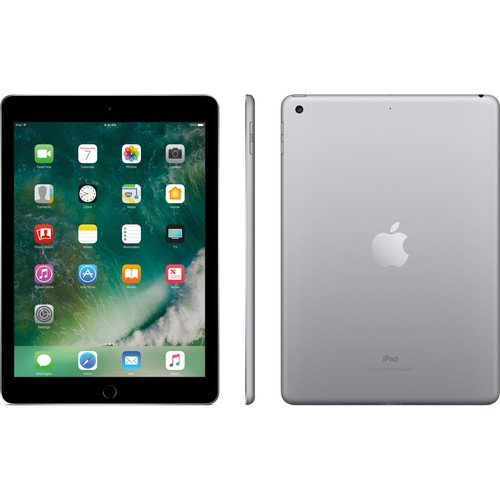 Apple iPad 9.7 inch 32GB Space Gray Generation 5 Accessories Bundle(10,000mAh iPad Power Bank, iPad Stylus Pen, Microfiber Cloth) by Apple (Image #1)