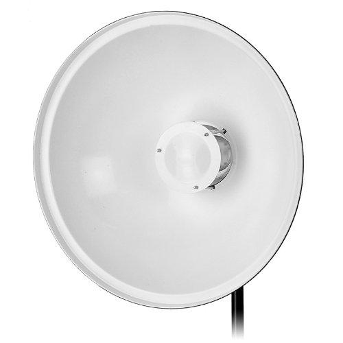 Fotodiox Pro Beauty Dish 22'' with Speedring for Novatron M Series Monolight M150, M300, M500, 2107FC Strobe