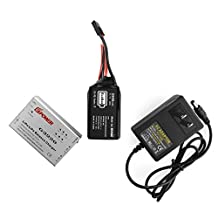 Parrot AR. Drone Quadcopter 2.0 2500mah Li-po Upgrade Battery Large Capacity with Lipo Balance Charger