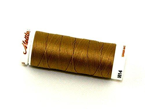 Mettler No 40 100% Cotton Quilting Thread 150m 150m 287 Pecan - each