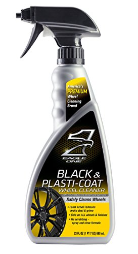 Eagle One E301345400 Black and Plastic-Coat Wheel Cleaner, 23 fl. oz. by Eagle One