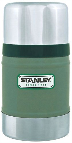 Stanley 17oz. Classic Vacuum Food Jar (Hammertone Green), Outdoor Stuffs