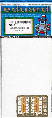 エデュアルド 1/72 スピットファイアMk.2a ランディングフラップ レベル用 プラモデル用パーツ EDU72649