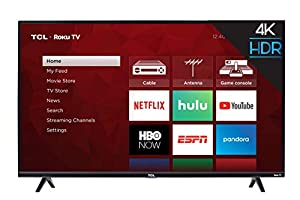 TCL 43S425 4K Smart Roku LED TV (2018)