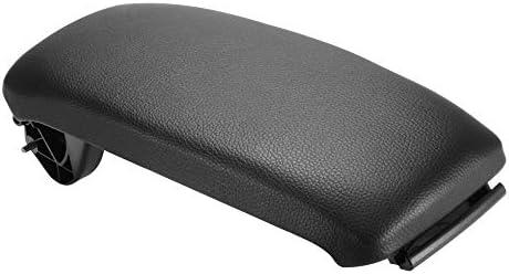 Kreema Couvercle daccoudoir de Console Suture en Cuir Noir Auto pour Couvercle Centrale Audi A3 8P 2003-2012