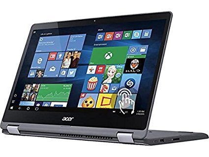 Acer R5 Flagship Premium 15.6″ FHD IPS Touchscreen 2-in-1 Convertible Laptop, Intel Core i5-6200U up to 2.8GHz, 8GB DDR4, 1TB HDD, USB 3.0, 802.11ac, HDMI, Webcam, Win 10 (Certified Refurbished)