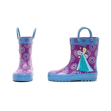 Diseny- Die Eiskönigin - völlig unverfroren - Gummistiefel für Kinder - regen Stiefel- UK Größe, 8 - EU Größe 26