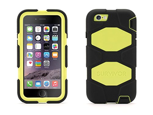 Survivor All-Terrain Case + Belt Clip for iPhone 6/6s 4.7 - Mil-spec tested, real-world proven protection ()