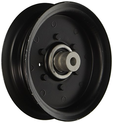 Lawn Mower Idler Pulley - Replacement Pulley For Craftsman, Poulan, Husqvarna, 197379 or 196106 Flat Idler Pulley
