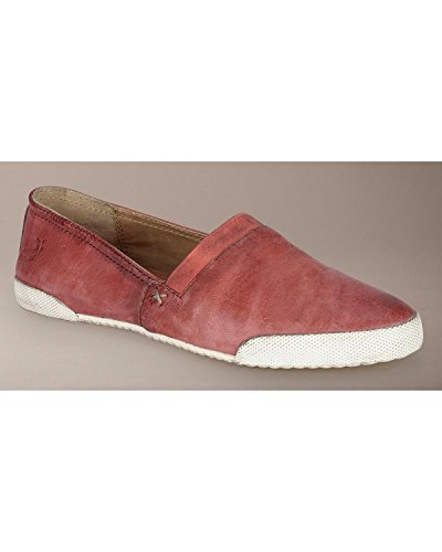 Freak Womens Melanie Slip-on Fashion Sneaker Rosso