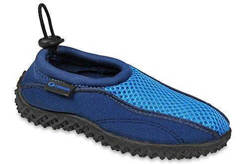 Gwinner los niños calzan los zapatos de surf agua aqua zapatos Navy/Azul