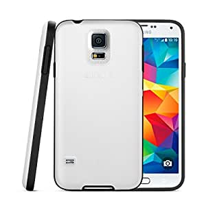 Anker® Hybrid Bumper Case for Samsung Galaxy S5 - Bumper Case with Matte Back Panel for Galaxy SV