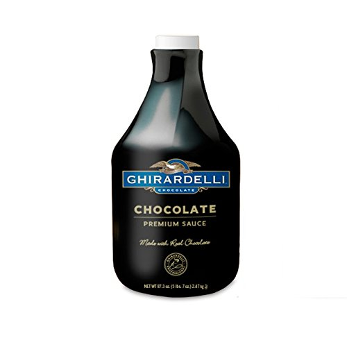 Ghirardelli Chocolate Flavored Sauce, Chocolate, 87.3-Ounce Packages by Ghirardelli