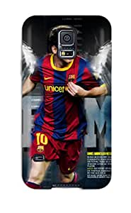 DonnaCarlk Case Cover Protector Specially Made For Galaxy S5 Lionel Messi Date Of Birth