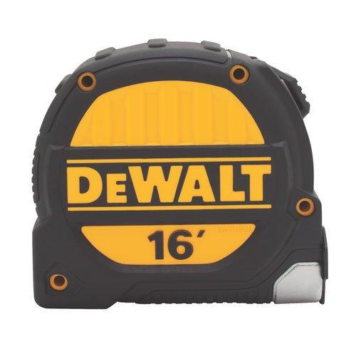 DeWalt DWHT33924L - Cinta métrica de 16 pies, hoja de 3,81 cm