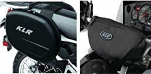 Kawasaki KLR650 KLR 650 Saddlebags With Handlebar Bag Luggage Kit