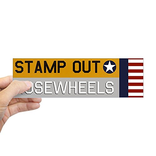 17 Rectangle Magnet (CafePress - Stamp Out Nosewheels - Pt-17 Bumper Sticker - 10