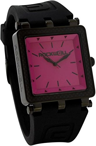 Rockwell Time CF Lite Watch, Black/Pink by Rockwell Time
