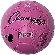 Champion Sports Bola de futebol composta da série extrema: tamanhos 3, 4, 12,7 cm várias cores