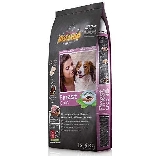 Belcando Finest Croc [12,5 kg] Hundefutter | Trockenfutter für kleine & mittlere Hunde | Alleinfuttermittel für…