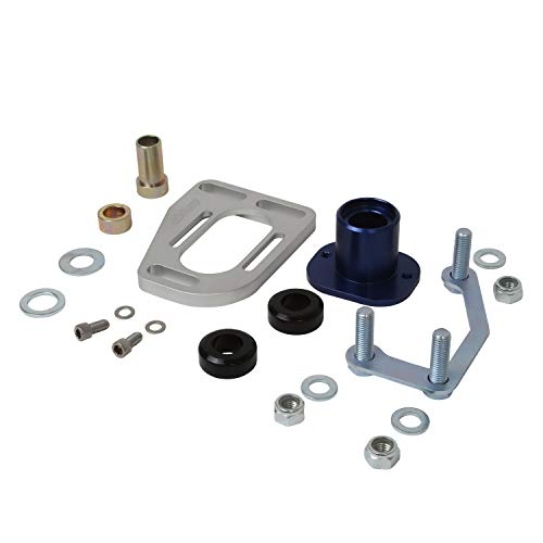 BBK 2525 Caster Camber Alignment Kit for Ford Mustang - CNC Machined Billet Aluminum With Clean Anodized Finish