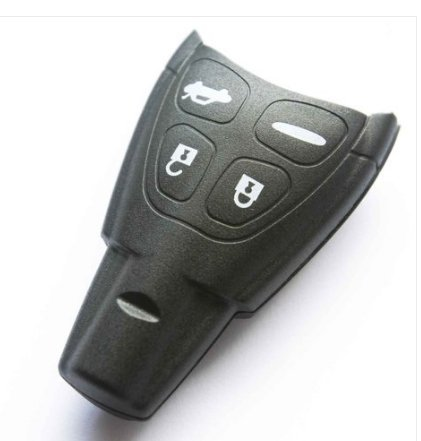 Femitu SAAB 9-3 9-5 Replacement Keyless Entry 4 Button Remote Key Shell Case FOB NEW by Femitu